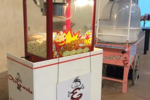 MACCHINA PROFESSIONALE PER POP CORN