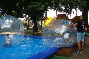 GONFIABILE WATER BALL